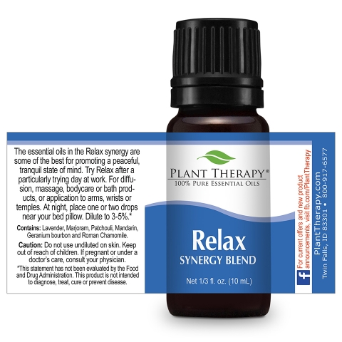 Relax Synergy Essential Oil Blend