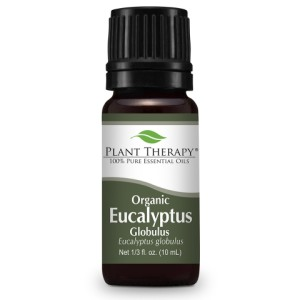 10ml Organic Eucalyptus Essential Oil