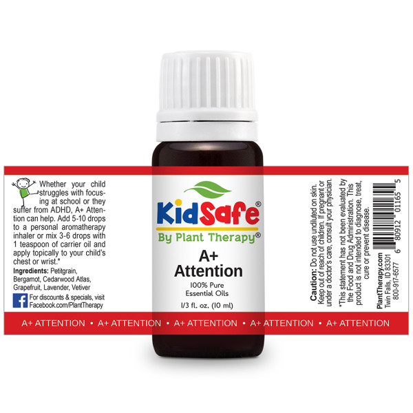KidSafe A+ Attention Synergy Blend