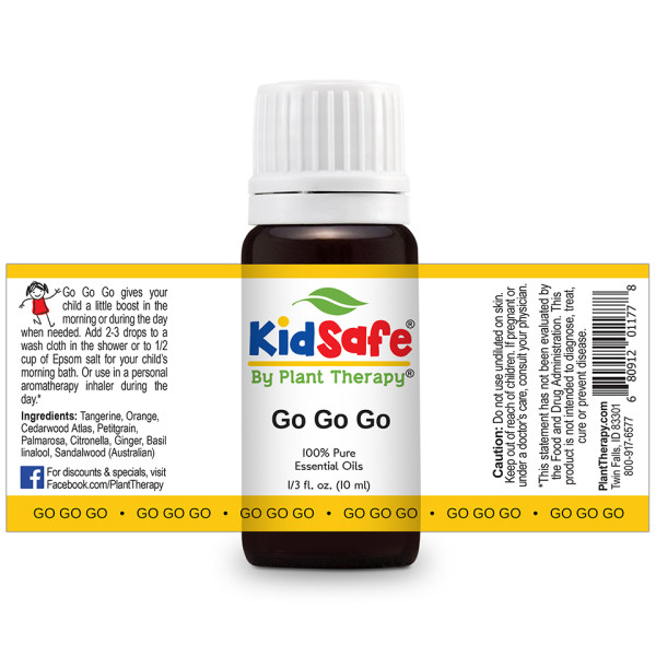 GO GO Go Essential Oil Blend