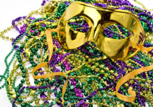 Lead mardi Gras Beads