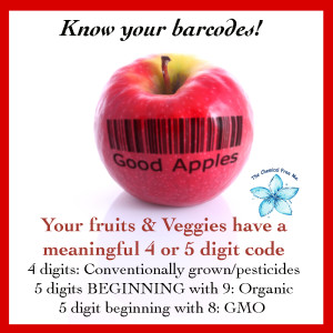 Barcodes for Fruit and Veggies