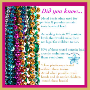 Lead in Mardi Gras Beads
