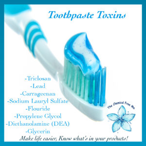 Toxins in Toothpaste