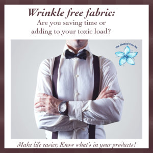 Wrinkle Free Fabric Toxins