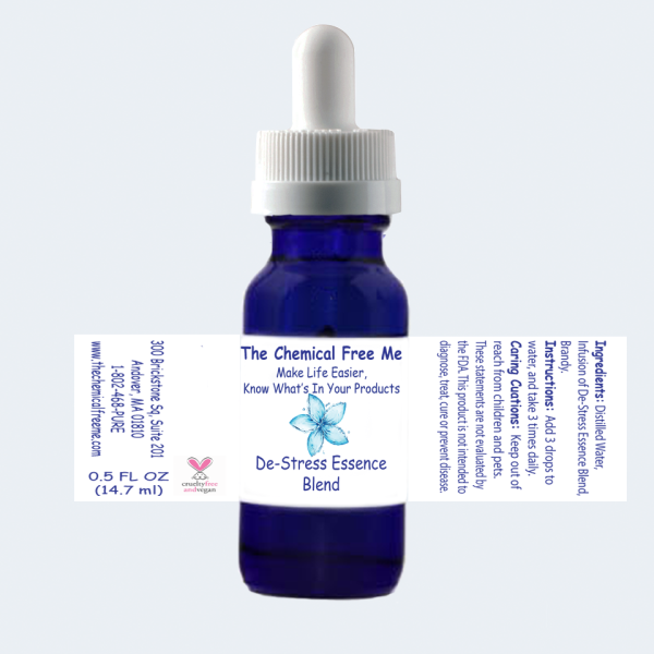 De-Stress Essence Full Label View