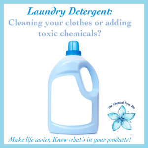 Toxins in Laundry Detergent